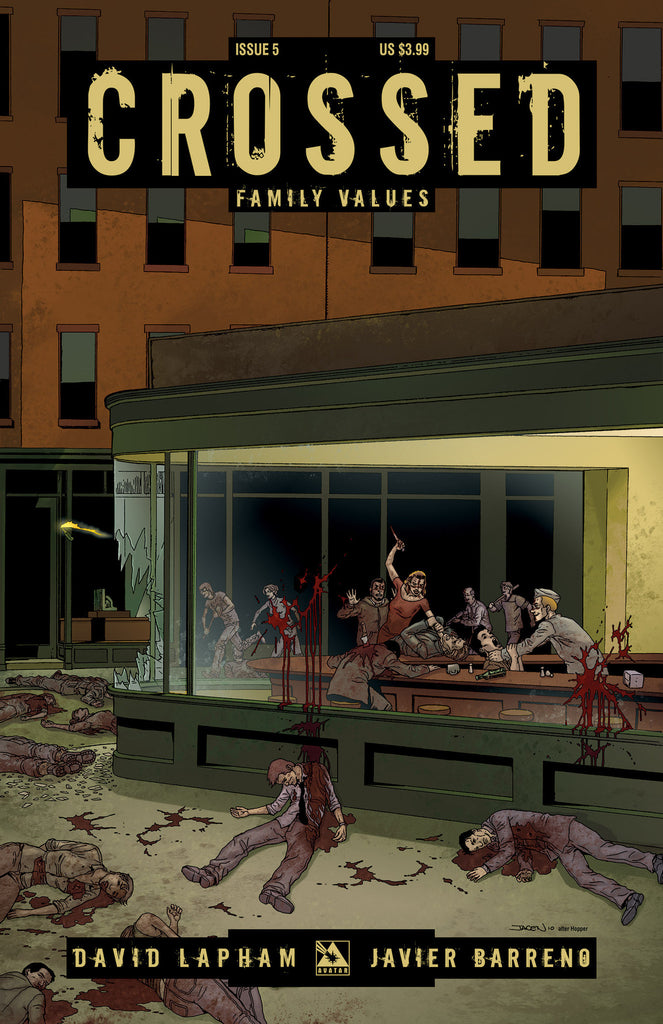 CROSSED: Family Values #5 - Digital Copy