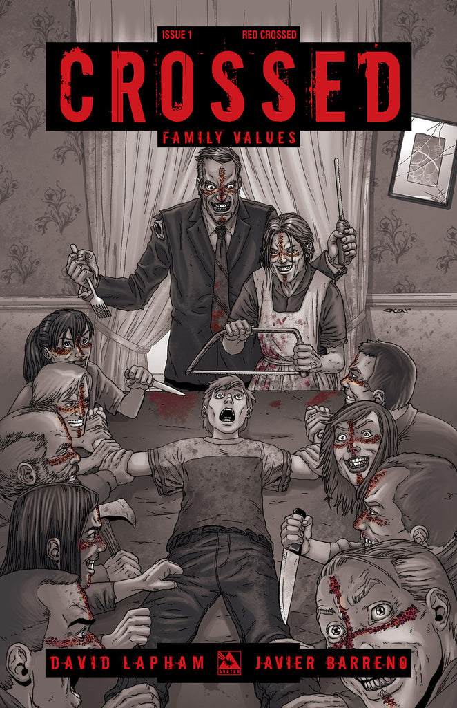 CROSSED: Family Values #1 Red Crossed order incentive