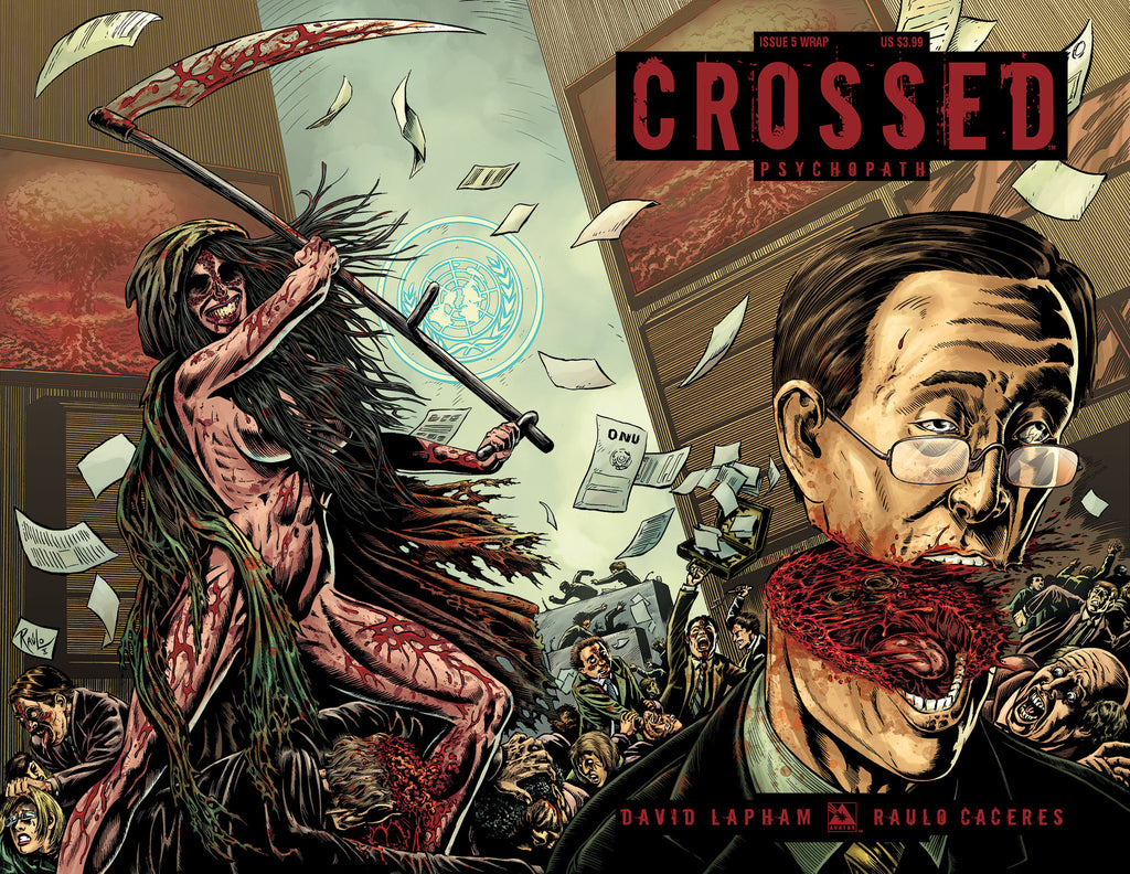 CROSSED: PSYCHOPATH #5 Wraparound
