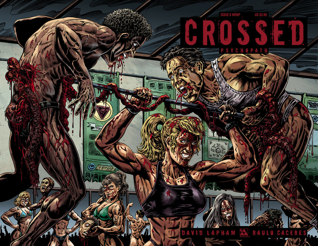 CROSSED: PSYCHOPATH #6 Wraparound