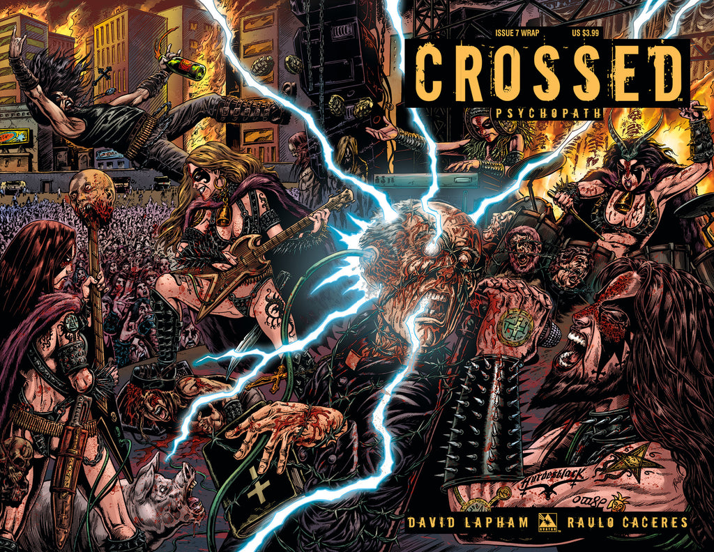 CROSSED: PSYCHOPATH #7 Wraparound Cover