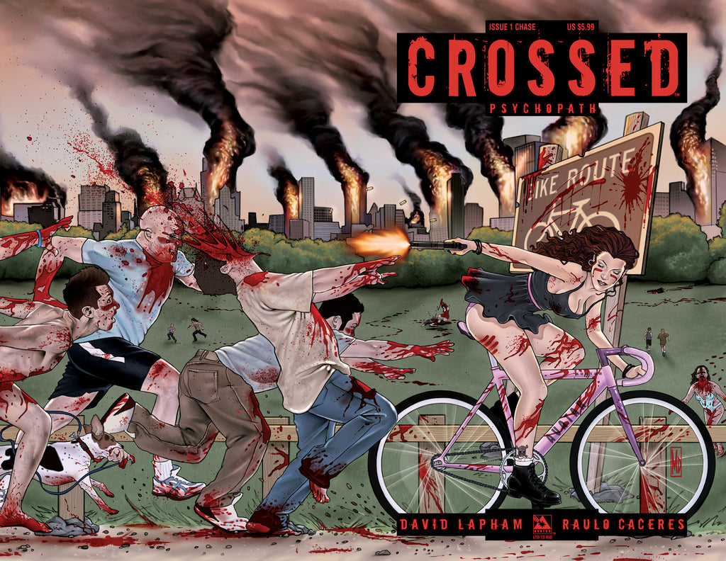 CROSSED: PSYCHOPATH #1 Chase