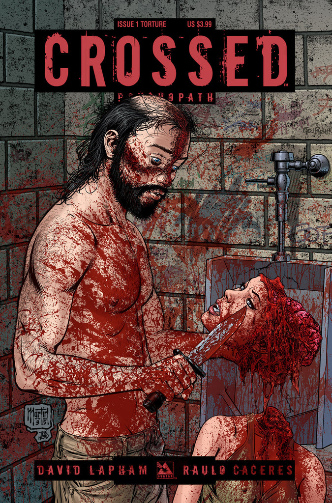 CROSSED: PSYCHOPATH #1 Torture