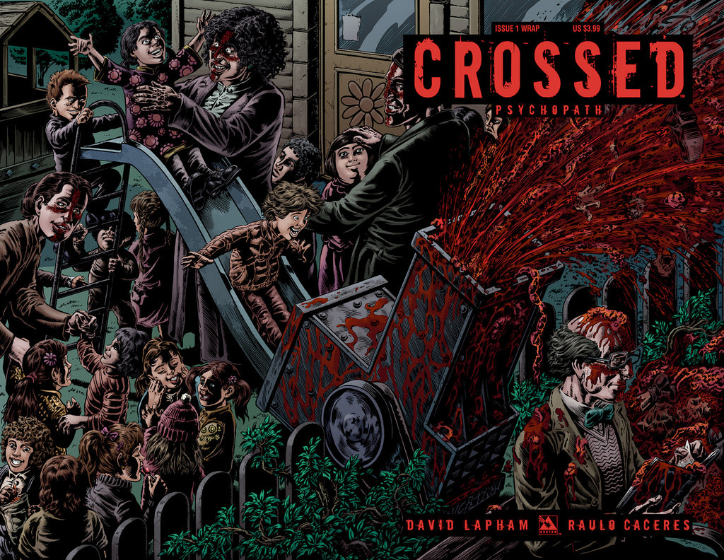 CROSSED: PSYCHOPATH #1 Wraparound