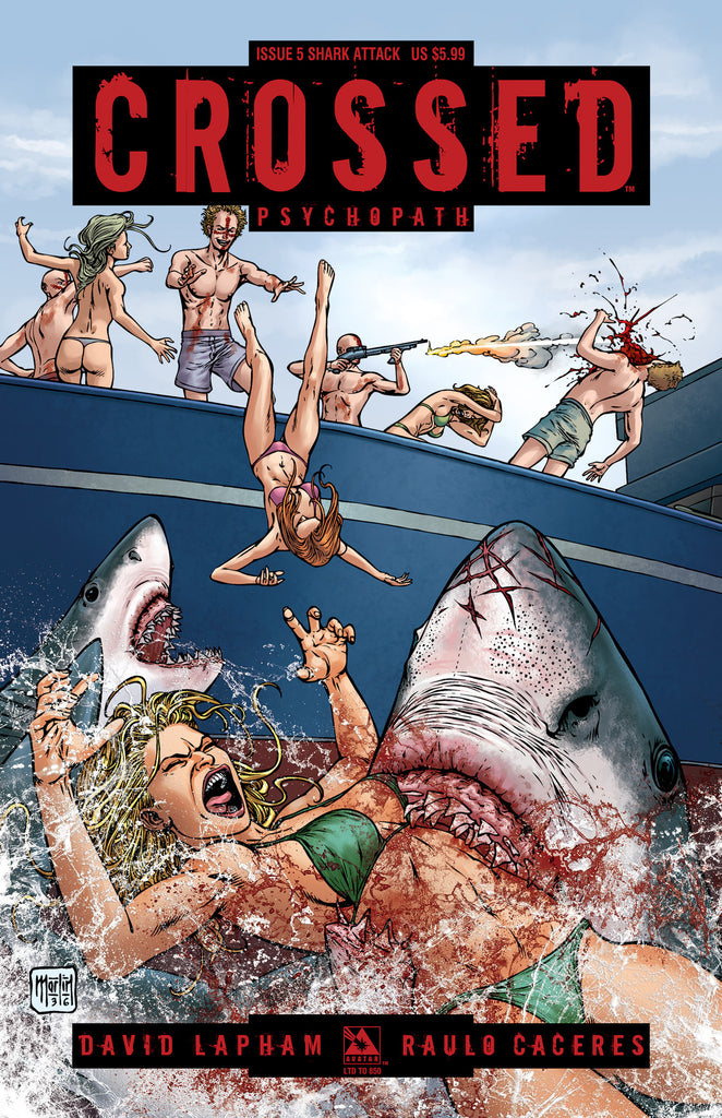 CROSSED: PSYCHOPATH #5 SHARK ATTACK