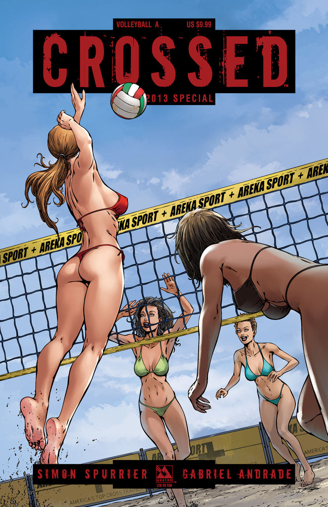 CROSSED SPECIAL 2013 Volleyball 2 cover set