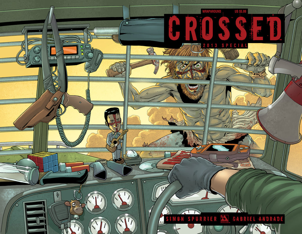 CROSSED SPECIAL 2013 WRAPAROUND COVER