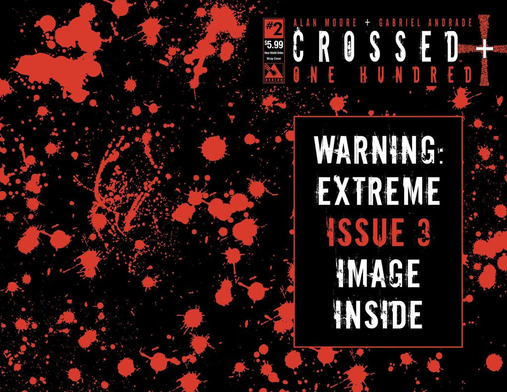 CROSSED +100 #3 New World Order Wraparound (Bagged)