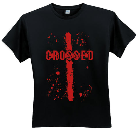 CROSSED LOGO T-SHIRTS (MED, LG, XL, XXL)