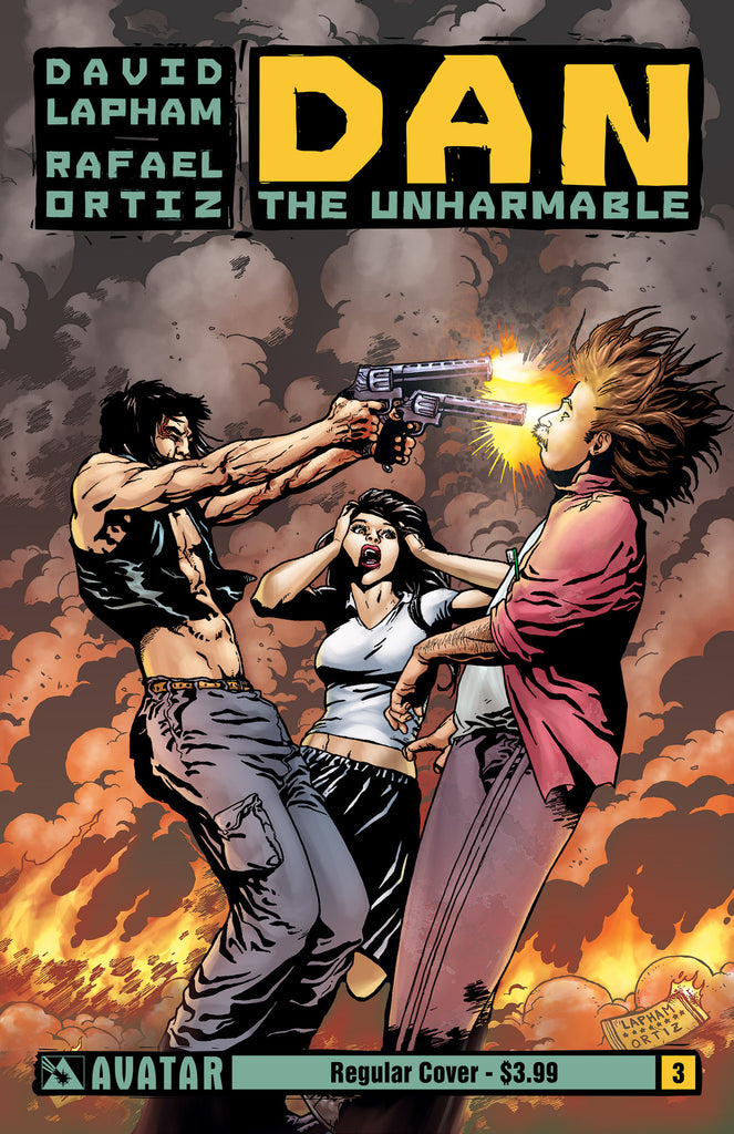 DAN THE UNHARMABLE #3 - Digital Copy