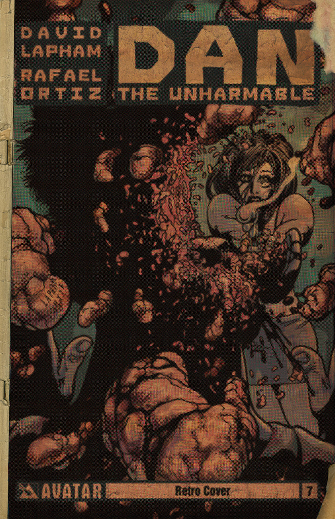 DAN THE UNHARMABLE #7 RETRO INCENTIVE COVER