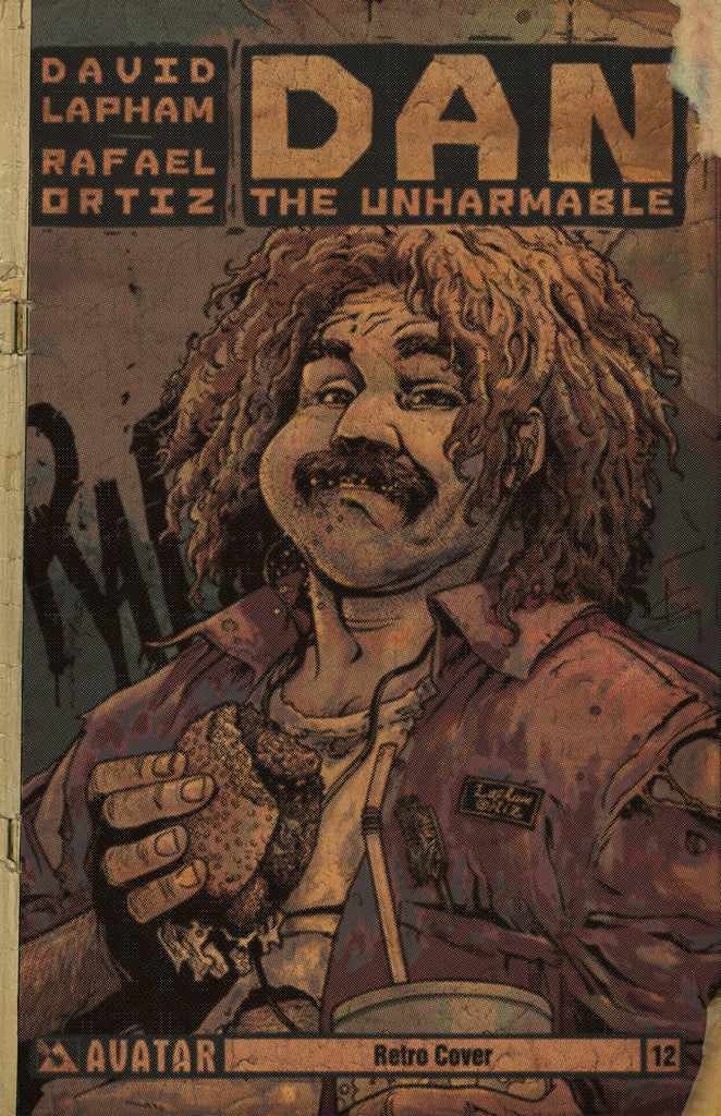 DAN THE UNHARMABLE #12 RETRO INCENTIVE COVER