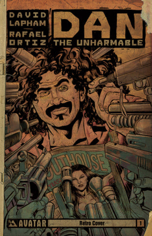 DAN THE UNHARMABLE #1 RETRO INCENTIVE COVER