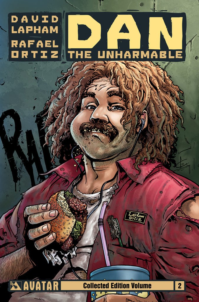 DAN THE UNHARMABLE VOL 2 TPB