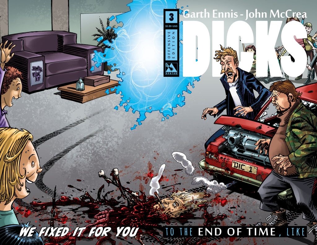 DICKS: END OF TIME #3 Offensive