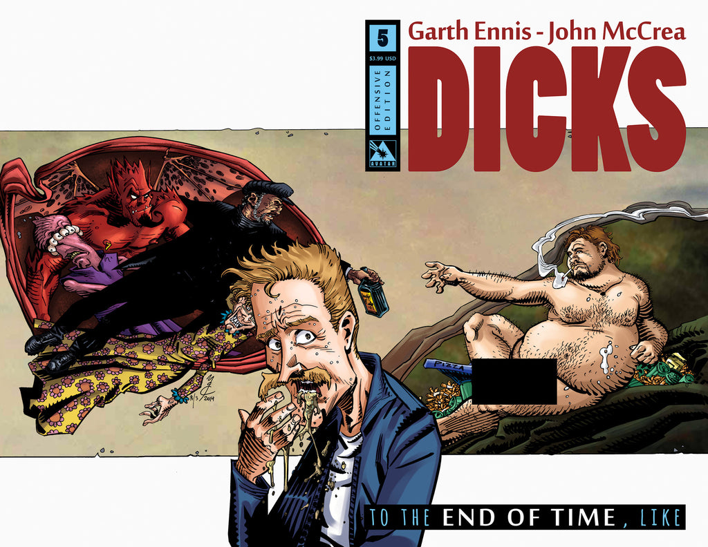 DICKS: END OF TIME #5 Offensive