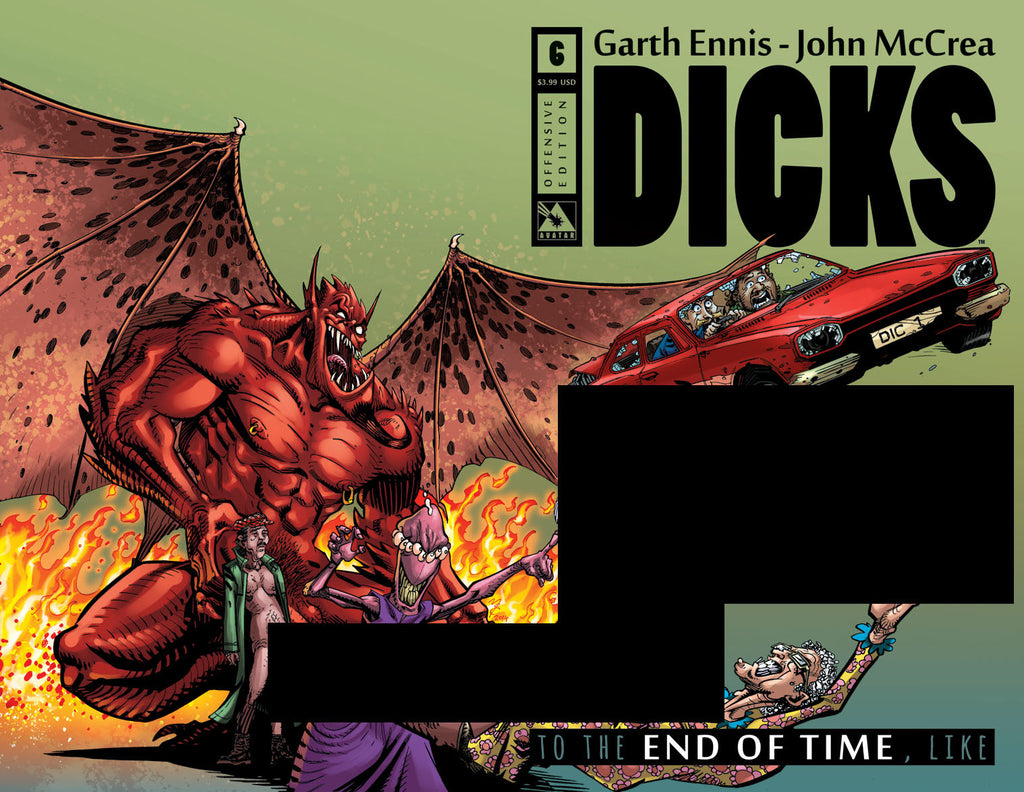 DICKS: END OF TIME #6 Offensive