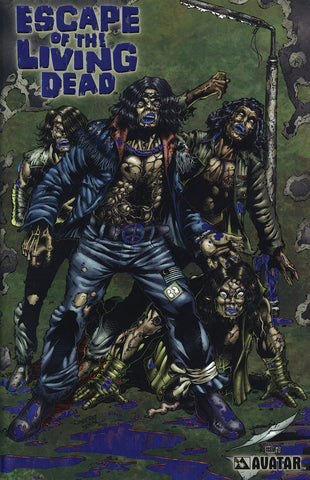 ESCAPE OF THE LIVING DEAD #1 Royal Blue Foil