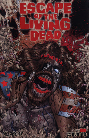 ESCAPE OF THE LIVING DEAD Fearbook #1 Blood Red Foil
