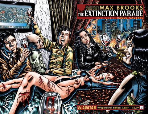 EXTINCTION PARADE #2 WRAPAROUND COVER