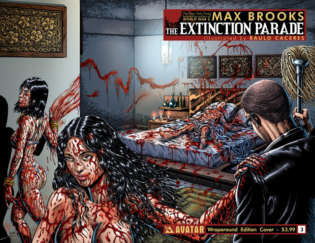 EXTINCTION PARADE #3 WRAPAROUND COVER