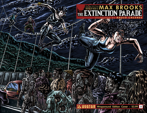 EXTINCTION PARADE #5 Wraparound