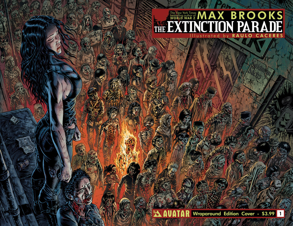 EXTINCTION PARADE #1 WRAPAROUND COVER