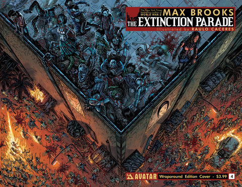EXTINCTION PARADE #4 WRAPAROUND COVER