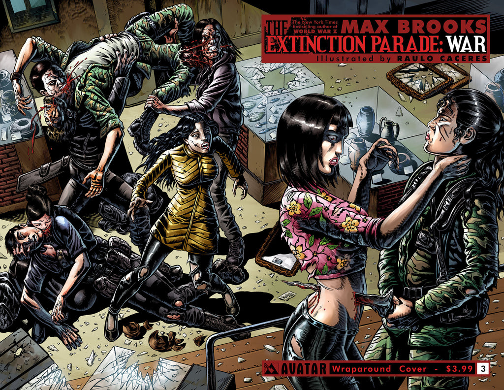 EXTINCTION PARADE: WAR #3 Wraparound