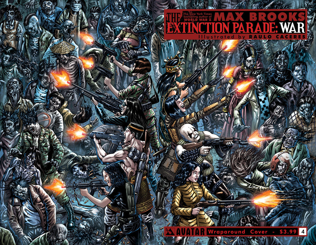 EXTINCTION PARADE: WAR #4 Wraparound
