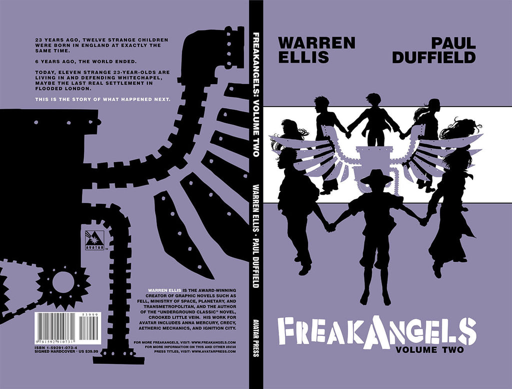 FREAKANGELS Vol 2 Hardcover Dual Signed