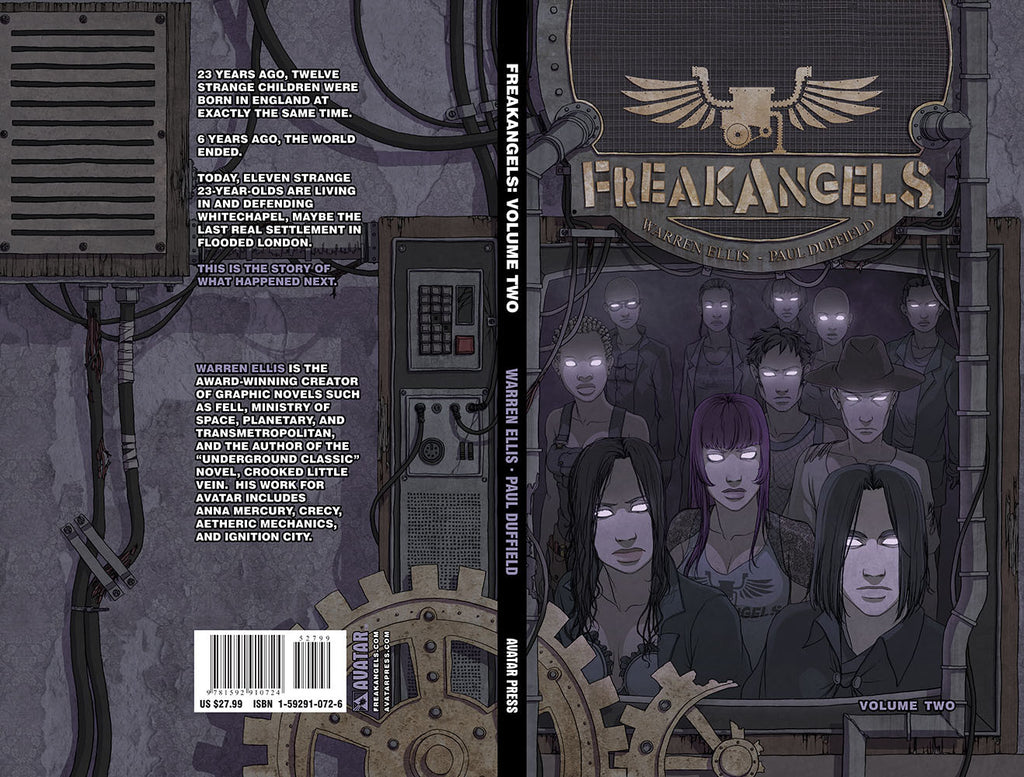 FREAKANGELS VOL 2 Hardcover