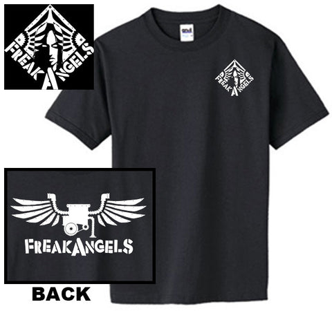 FreakAngels KK Diamond Symbol and Wings T-Shirt -- Size L