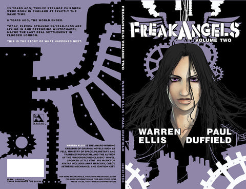 FREAKANGELS VOL 2 Trade Paperback - Digital Copy