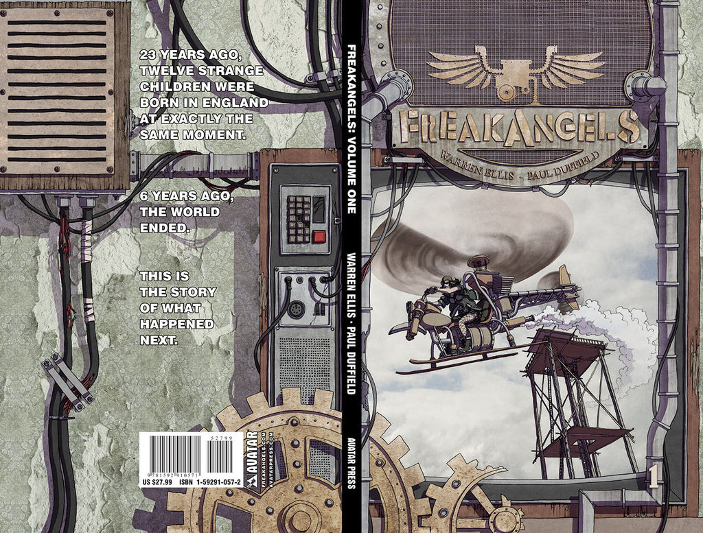 FREAKANGELS VOL 1 Hardcover