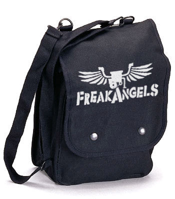 FreakAngels Canvas Map Case Shoulder Bag