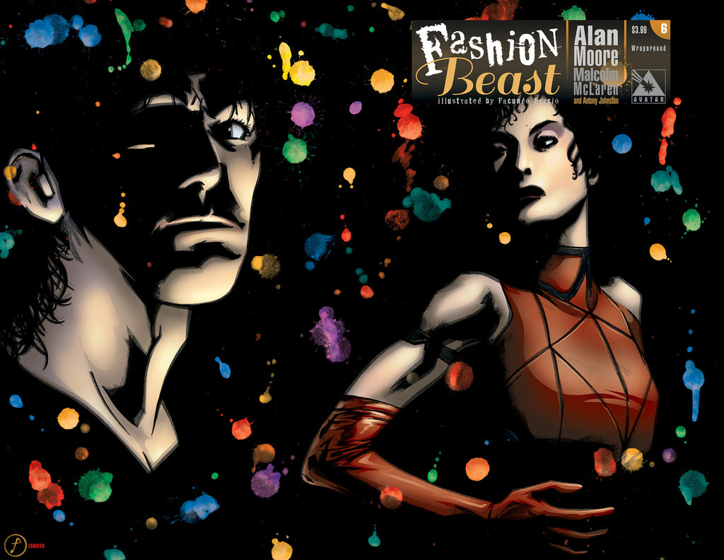 FASHION BEAST #6 WRAPAROUND COVER