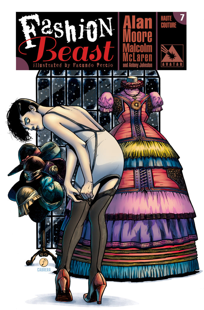 FASHION BEAST #7 HAUTE COUTURE ORDER INCENTIVE COVER