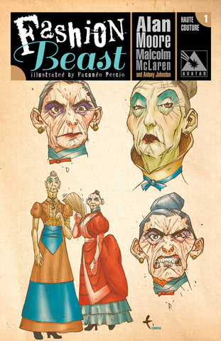 FASHION BEAST #1 HAUTE COUTURE ORDER INCENTIVE COVER