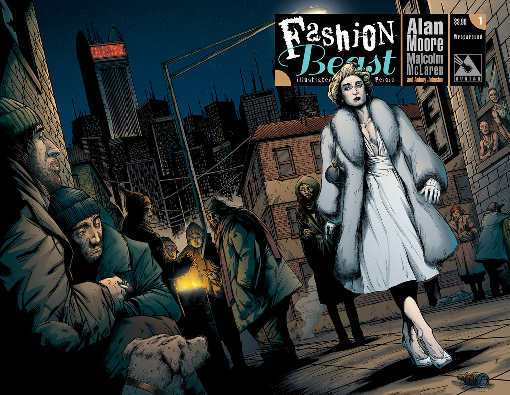 FASHION BEAST #1 WRAPAROUND COVER