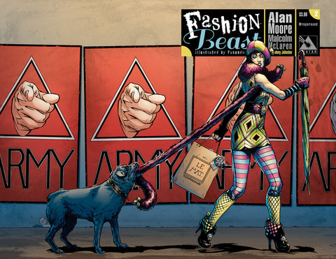 FASHION BEAST #2 WRAPAROUND COVER