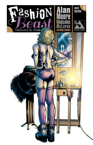 FASHION BEAST #3 HAUTE COUTURE ORDER INCENTIVE COVER
