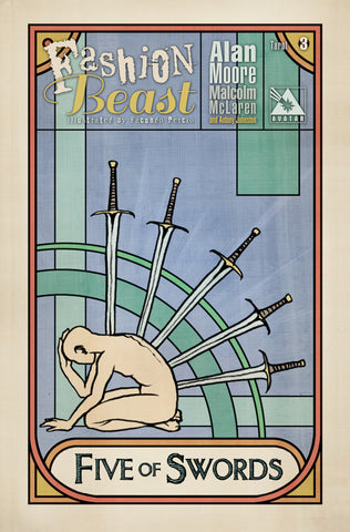 FASHION BEAST #3 TAROT ORDER INCENTIVE COVER