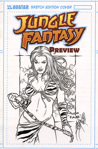JUNGLE FANTASY: FAUNA $499 KS Original Art - #0 Century