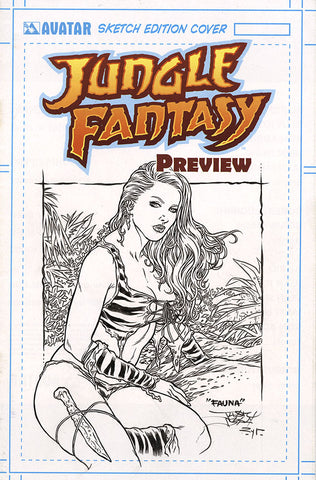 JUNGLE FANTASY: FAUNA $499 KS Original Art - #1 Century