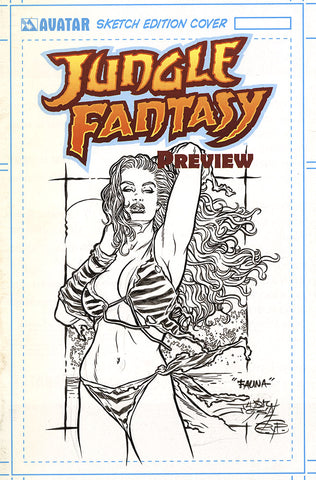JUNGLE FANTASY: FAUNA $499 KS Original Art - #2 Century