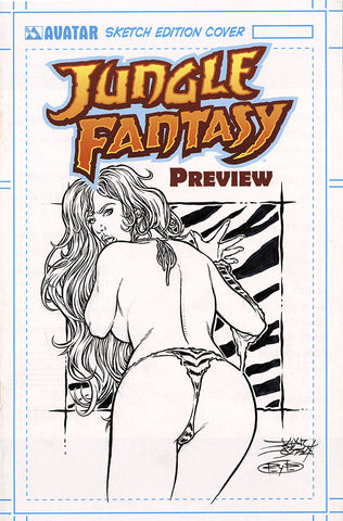 JUNGLE FANTASY: FAUNA $499 KS Original Art - #4 Century