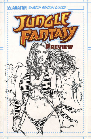 JUNGLE FANTASY: FAUNA $499 KS Original Art - #6 Century