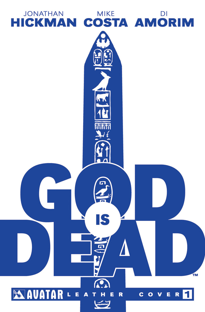 GOD IS DEAD #1 White Leather