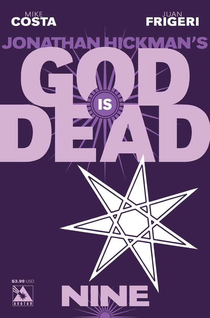 GOD IS DEAD #9 - Digital Copy